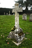 Cross the old English cemetery. — Stock Photo