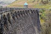 Dam, massive structure. — Stock Photo