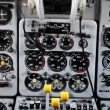 Different flight instruments ready to use — Stock Video