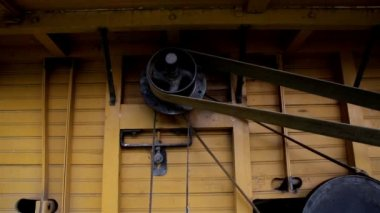 The straw hammer mill — Stock Video