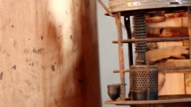 The body of a vintage lamp — Vidéo