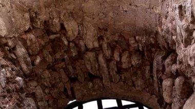 城のゲートから壁 — ストックビデオ