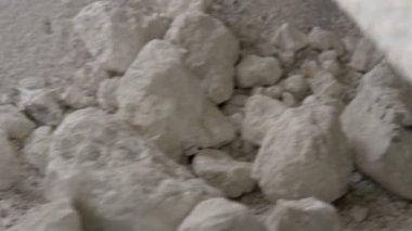 The big rocks of limestones — Stock Video