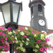 The big clock from the old city hall of Tartu Estonia GH4 — Stock Video