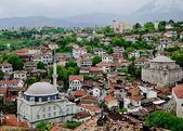 Pohled přes staré město safranbolu, turecko — Stock fotografie