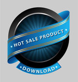 Hot sale product design element — Stock Vector