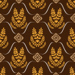 Seamless ornament pattern vector tile — Stock Photo