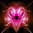Multiple hearts. Computer generated fractal artwork. — Stock Photo #28202383