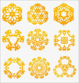 Originally created vector ornament collection — Stock Vector