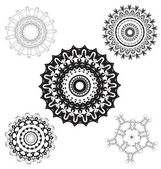 Creative design elements and ornaments — Stock Vector