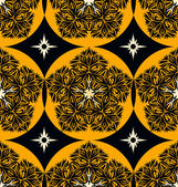 Seamless ornament pattern tile — Stockvektor