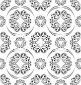 Seamless ornament pattern tile — Stock Vector