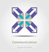 Originariamente creato icona aziendale — Vettoriale Stock