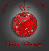 Elegant Christmas decorative background — Stockvector