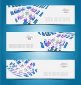 Elegant banner design template — Stock Vector