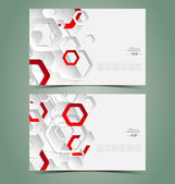 Elegant business card templates — Stock Vector
