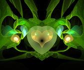 Computer generated fractal artwork — Stock Photo