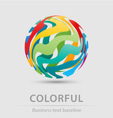 Colorful ball business icon — Vetorial Stock
