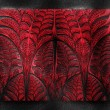 Luxury background with embossed fractal pattern on leather — Stock Photo #51206627