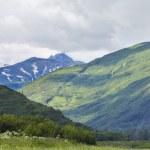 Mountains in alaska — Stock Photo