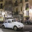 White beetle car in street — Stock Photo #14376309
