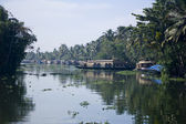 India Backwaters — Stock Photo