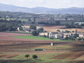 Beautiful landscape in tuscany — Stock Photo