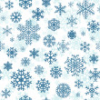 Christmas seamless pattern from snowflakes — Stock Vector #33169367