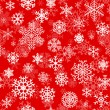 Christmas seamless pattern from snowflakes — Stock Vector #33169391