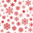 Christmas seamless pattern from snowflakes — Stock Vector #33169399