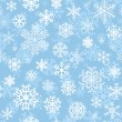 Christmas seamless pattern from snowflakes — Stock Vector #33464093