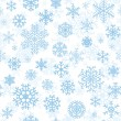 Christmas seamless pattern from snowflakes — Stock Vector #33464149