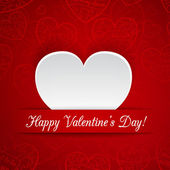 Card for Valentine's Day — Stock Vector