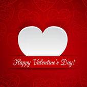 Kaart voor valentijnsdag — Stockvector