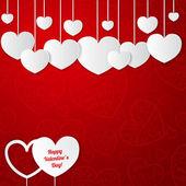 Karta na Walentynki — Wektor stockowy