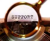 Podpora — Stock fotografie