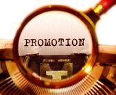Promoción — Foto de Stock