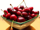 Sweet cherries — Fotografia Stock