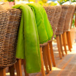 cafe chairs — Stock Photo