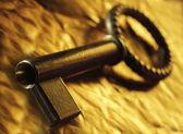 Винтаж ключ — Стоковое фото