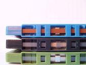 Three Cassettes - Retro 2 — Stock Photo