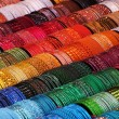 Color threads - yarn in different colors — Stock Photo