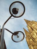 Another view to the Cologne Cathedral — Stock Photo