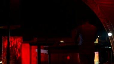 Fiesta dj — Vídeo de stock