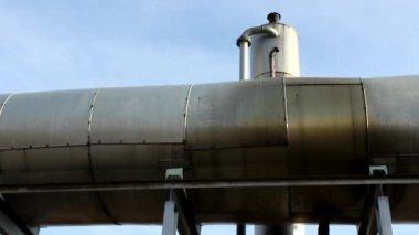 Gas power plants — Stock Video