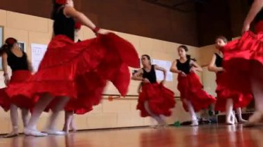 Tango Ballet — Stock Video