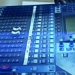 Stock Video: Television audio mixer board