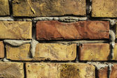 Bricks wall and mortar — Stock Photo