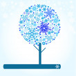 Royalty-Free Stock Vector Image: Winter tree