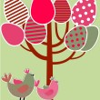Stock Vector: Easter greetings card